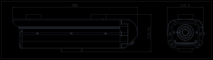 """CCD智能交通万博客户端下载摄像机 300万 1/1.8"""" iDS-TCB311"""