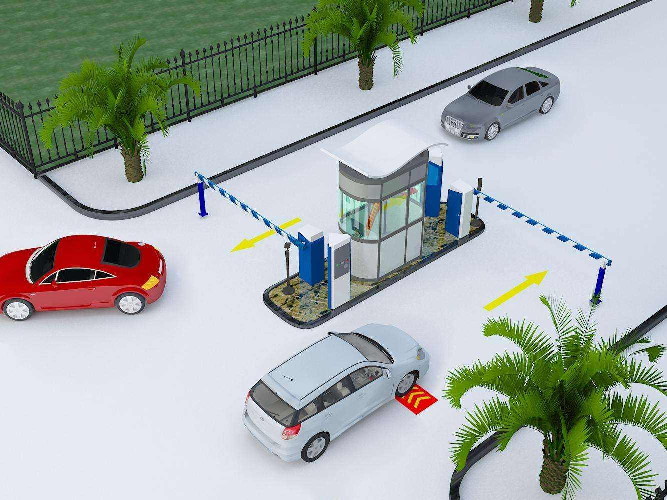 智能大厦停车场感应卡智能系统设计